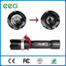 Wholesale alibaba 500 lumen t6 best led tactical police leds flashlight, rechargeable flashlight