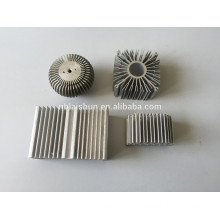 Round aluminum extruded led downlight heatsink