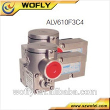 stainless steel two position three way solenoid valve for water