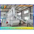 Sistema de secado y enfriamiento de lecho fluidizado serie Acesulfame solid
