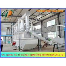 Special vibrating fluidized bed drying system for thiourea