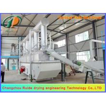 Fluid drying bed machine of boric acid