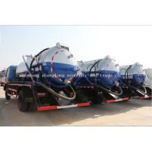 Caminhão de lixo 10X2 10ton / 10 metros cúbicos de esgoto caminhão de esgoto