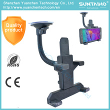 4703 universal suporte do telefone do carro ajustável para mini ipad iphone samsung