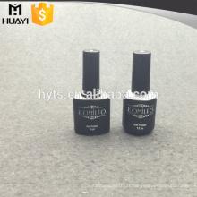 8ml 15ml couleur noire bouteille de vernis à ongles vide
