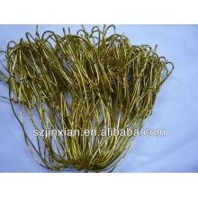 cordón elástico dorado