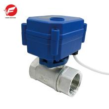 Válvula de controle hidráulico de fluxo de ventilação automática de aço inoxidável para trator