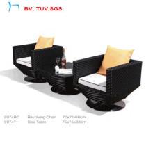 2016 тонкий ротанга/плетеная мебель кофейный набор (9074RC+9074T)