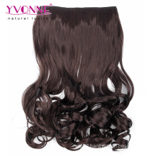 Synthetic Clips in Hair Ponytails