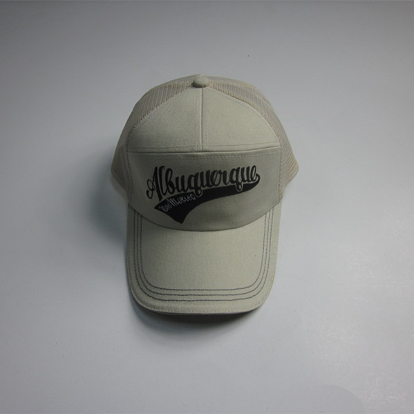 Reflektierende Sandwich fünf Panel Stickerei Trucker Cap