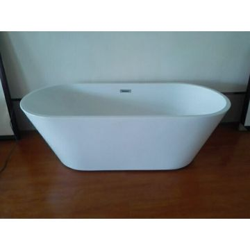 Simple Design Acrylic Bathtub