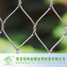 304 Stainless Steel Wire Rope Mesh Fence China Manufacturer