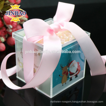 Jinbao modern new crystal home decor display acrylic box transparent