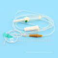 wing spike luer lock connector latex or latex disposable Infusion set