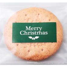 Autocollant d'impression de papier d'impression de sceau de Noël, étiquettes adhésives autocollantes d'impression, impression d'autocollant