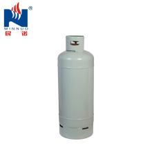 Propano vazio do steell da capacidade 100lb do cilindro de gás que cozinha o tanque de gás para o mercado de Ámérica do Sul