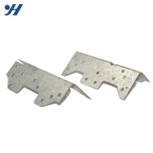 Steel Stainless Perforated Connection Custom-Made Metal Bracket