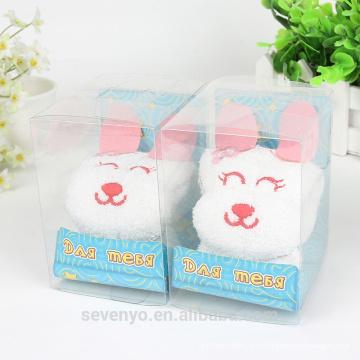 100% хлопок милый кролик подарок высокое качество полотенца
