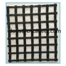 Geogrelhas de Fibra de Vidro Composto com Geotêxtil (geogrelha 50kn com geotêxtil 150g)