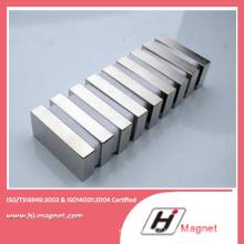Hochleistungs-Strongneodymium Quadermagnet mit ISO 9001 Ts16949