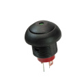Interruptor de luz redondo impermeable 12mm LED Interruptores de luz