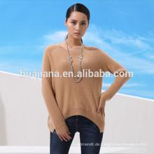 Relax-Stil Dame Kaschmir Kleid