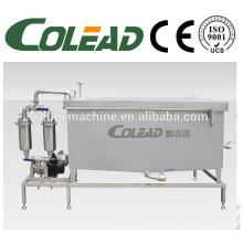 Refrigerador de agua industrial SUS 304 / línea de procesamiento vegetal / especies de conservación de agua helada