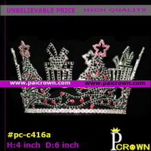 Christmas tree girls tiara crown for pageant