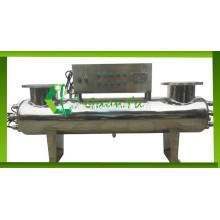 Tanque de peixes usando filtro esterilizador uv para dispositivos médicos de água limpa