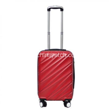 Set di valigie ABS con custodia trolley Fashion Grain
