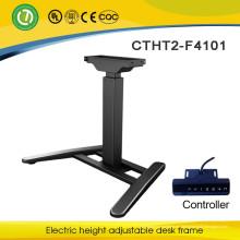 St. Catharines Muebles de oficina ergonómicos Marco de escritorio ajustable eléctrico saludable de Venecia Marco de acero ajustable de Naples