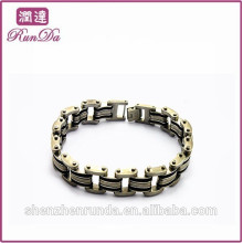 Alibaba bracelets de mode en acier inoxydable à bas prix 2015