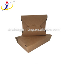 Biodegradable paper food box,paper meal box,food corrugated paper box