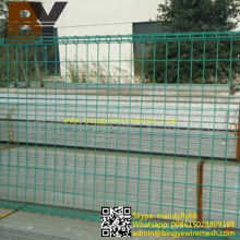 Powder Coated Yard Valla Doble Loop Wire Fence