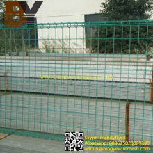 Powder Coated Yard Fence Double Loop Wire Fence