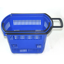 Portable Multifunctional Plastic Supermarket Shopping Baskets for Store