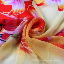 75D Druck Chiffon für Mode Kleid