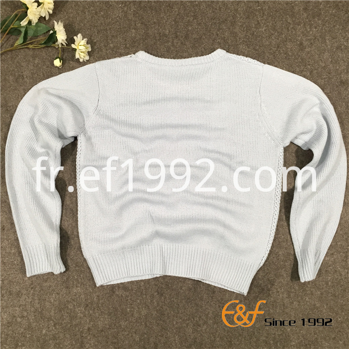 Classic Fashion and Basic Style Womens Crew Neck Sweater