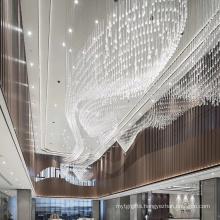 Luxury crystal decorative led chandelier light