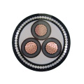 ISO CE alta tensão 1 núcleo 3 núcleo xlpe 11kv preço do cabo de energia subterrânea