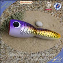 WDL031 20 cm 100 g aparejos de pesca baratos todo señuelo de la pesca resplandor al por mayor pesca popper grande