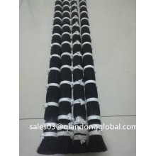 42 Polegadas Black Horse Tail Hair