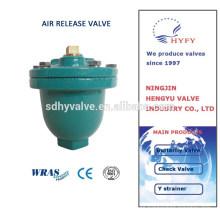 válvula de salida de aire de hierro dúctil
