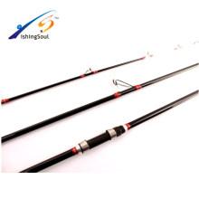 SFR083 En gros pêche matériel pur carbone canne à pêche surf casting