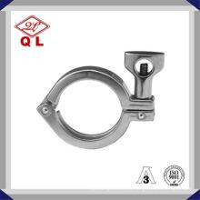 Aço inoxidável Sanitária 304 Tc Clamp para alimentos enlatados
