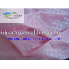Polyester Jacquard Satin Fabric(fashion and well handfeel)