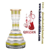 New Style Hookah Vase Hookah Bottle Cheap Glass Hookah Vase