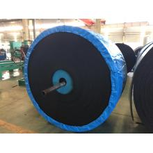 Polyester conveyor belting for mining