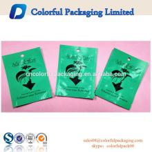 Reseable Matte green Aluminum Foil Condoms pouch