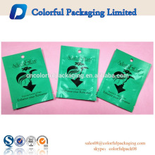 Reseable Matte green Aluminum Foil Condoms pouch